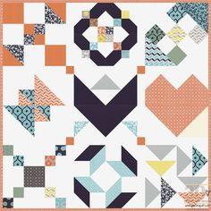 Piece N Quilt: How to: 30 Days of Sewing Quilt Blocks - Sampler #1