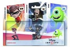 Disney Infinity Sidekicks 3 Pack (Xbox 360/PS3/Nintendo Wii/Wii U/3DS): Amazon.co.uk: PC & Video Games