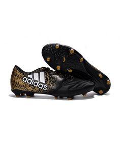 Adidas X 16.3 FG PEVNÝ POVRCH kopačky černá zlato - Messi kopačky adidas  Neymar CR7 nike kopačky -www.kopacky01.com f8b90d49fbf2b
