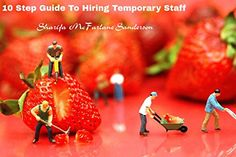 10 Step Guide To Hiring Temporary Staff: Avoid Mistakes With Hiring Temp Staff That Lead To Delays And Frustration
