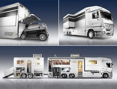 Are you looking to take a camping trip in the near future? Whether you are looking to take a camping trip as a family vacation or a romantic getaway, you may be concerned with . Kombi Motorhome, Rv Motorhomes, Luxury Motorhomes, Campervan, Luxury Rv, Best Luxury Cars, Cool Trucks, Big Trucks, Mercedes Benz Trucks