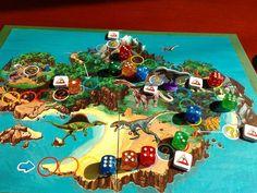 Escape from T-Rex Island | Image | BoardGameGeek