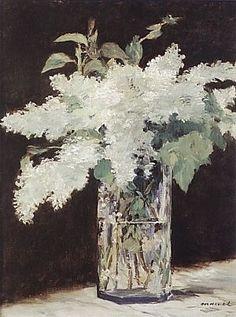 Edouard Manet - White Lilacs 1883