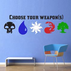 Choose Your Weapons Magic the Gathering Full by WallsOfText, $27.95