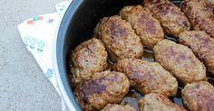 Δείτε μια παλιά συνταγή από την Πόλη για σουτζουκάκια Πολίτικα χωρίς ντομάτα.