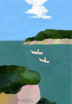 Hiroyuki Izutsu illustration