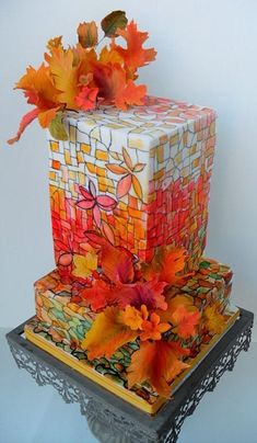 Fall celebrations cake by Craftsy member petrovaal1696638