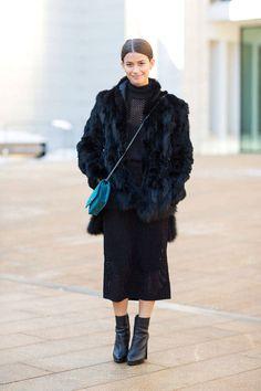 Sleek Ankle Boots, Street style like a lady.