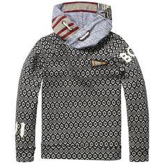 Scotch & Soda hooded sweater