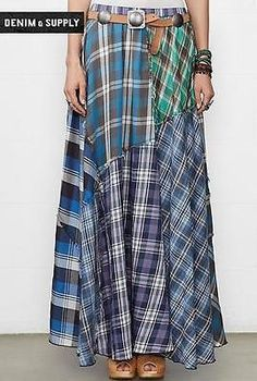 love the plaid skirts