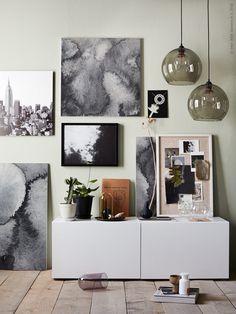 IKEA Sverige - Gör en tavelvägg med KALVIA