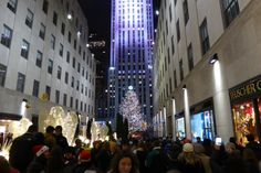 The authentic Christmas in New York experience (not in the travel brochures). Me and 127,000 others.