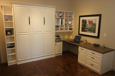 60 Best Murphy Bed & Home Office Combo's images | Butler pantry