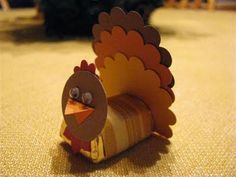 Cutest little turkey EVER! I'm SO doing this!!