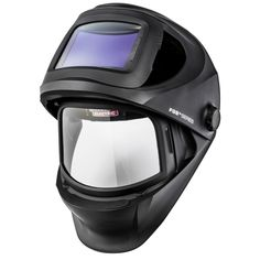 The Lincoln Viking Black Auto Darkening Welding Helmet offers a inch viewing space and a 4 axis headgear to help distribute weight and comfort. This helmet offers the largest grind shield view of all helmets at 161 degrees and features removab Welding Gloves, Welding Gear, Diy Welding, Welding Design, Welded Metal Projects, Welding Projects, Diy Projects, Welding Supplies, Welding Certification
