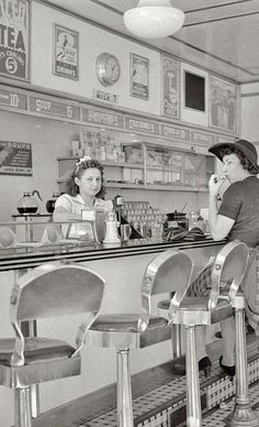 Soda Fountain back in the day