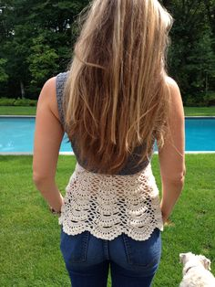 Ballerina Lace Crochet Top
