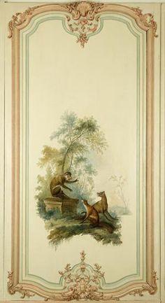 Cabinet des Fables : « Le loup plaidant contre le renard par devant le singe » - Les Arts Décoratifs - Site officiel