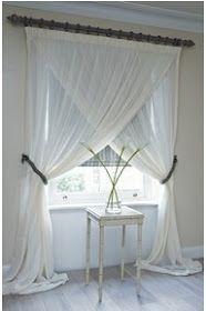 INSPIRÁCIÓK -kreatív lakberendezési magazinblog: Függönyök a lakásban - különleges megoldások