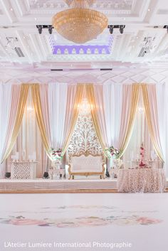 Wedding Backdrop Indian Stage Decorations Draping 52 Trendy Ideas - MY World Rustic Wedding Decorations, Backdrop Decorations, Decoration Table, Backdrops, Pakistani Wedding Stage, Indian Wedding Receptions, Desi Wedding, Wedding Blog, Wedding Planner