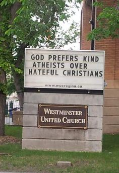 valid also for hateful muslims and hateful atheists