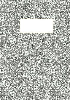 Back to school binder cover adult coloring pages Coloring book zip vk