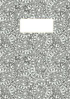 4 diy pinterest book for Binder coloring pages