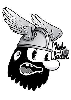 HOBO HEADS by Hobo and Sailor , via Behance
