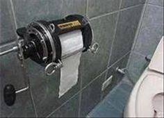 The Best Of Man Cave Accessories – 40 Pics - Toilet Paper from a Fishin' Reel Man Cave Accessories, Woman Cave, Man Cave Garage, Man Room, Home Projects, Good Things, Cool Stuff, Man Stuff, Fishing Tips