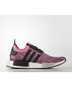 super popular 22527 6c38e Adidas NMD R1 Shoes Shock Pink Core Black Running White Ftw Bb2363