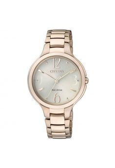 Citizen Ladies Eco-Drive Dress Watch Sale! Up to 75% OFF! Shot at Stylizio for women's and men's designer handbags, luxury sunglasses, watches, jewelry, purses, wallets, clothes, underwear
