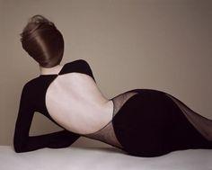 Geoffrey Beene dress, styled by Delphine Treanton