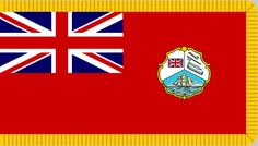 Belize - Colonial Flags of British Honduras