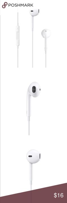 Apple Headphones HIGHLIGHTS:  Designed by Apple Deeper, richer bass tones Greater protection from sweat and water Control music and video playback Answer and end calls WHAT'S IN THE BOX: EarPods with 3.5 mm Headphone Plug With Remote and Mic The remote and mic are supported by all models of iPod, iPhone, and iPad (not all models support volume up/down functions). apple Accessories