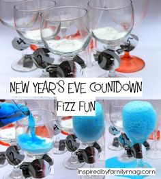 New Year's Eve Kid Activities- I love how simple and easy this is! My son is in awe each time.