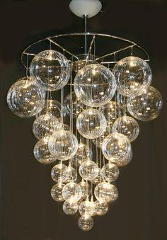 modern chandeliers | Modern Chandelier Lighting Photo #lightideas #lights #homelight