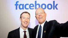 PPK se reunió con Mark Zuckerberg y se tomó un selfie con él