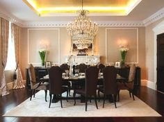 Awesome Modern Terrific Dining Room Ideas | Nallau Interior Design