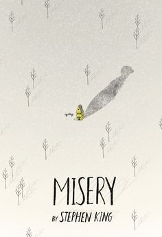cover for Misery by Mai Ly Degnan Illustration Book Cover Art, Book Cover Design, Book Art, Tumblr Book, Misery Stephen King, Buch Design, Design Design, Beautiful Book Covers, Best Book Covers