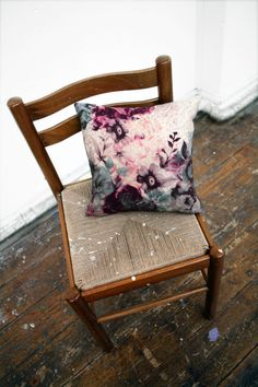 Textile Design for the home, comprising of Throw collection, Tableware collection, Cushion collection, Wallpaper collection 5 Elements Of Nature, Irish Design, Textiles, Granny Chic, Textile Design, Im Not Perfect, Cushions, Throw Pillows, Chair