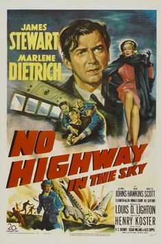 No Highway in the Sky (1951) James Stewart, Marlene Dietrich, Glynis Johns, Jack Hawkins