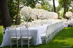 Resultado de imagen de Long wedding tables