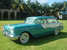 1955 Pontiac Safari..Re-pin...Brought to you by #CarInsurance at #HouseofInsurance in Eugene, Oregon
