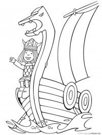wicky the viking coloring pages