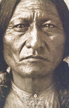 "Sitting Bull (Lakota: Tȟatȟáŋka Íyotake in Standard Lakota Orthography, also nicknamed Slon-he or ""Slow""; c. 1831 – December 15, 1890) was a Hunkpapa Lakota holy man who led his people as a tribal chief during years of resistance to United States government policies. -Wiki:"