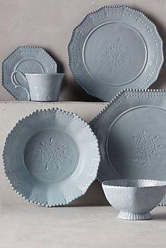 I want this amazing anthropologie dinnerware Stoneware Dinnerware, Ceramic Tableware, Kitchenware, Table Top Design, Japanese Pottery, Dinner Plates, Dinner Ware, Decorating Your Home, Decorating Ideas