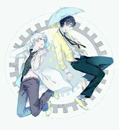 Mafumafu and Soraru (Utaite) by KANOSE