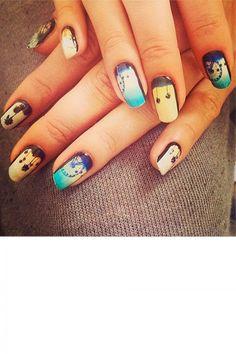 Alessandra Ambrosio's Coachella-Inspired Manicure