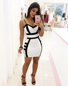 Likes, 50 Comments - moda Classy Outfits, Sexy Outfits, Stylish Outfits, Sexy Dresses, Beautiful Outfits, Cute Dresses, Dress Outfits, Casual Dresses, Short Dresses