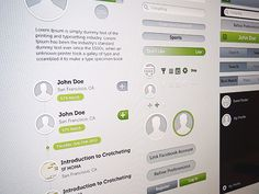 Dribbble - New application style by Nick Zhukov